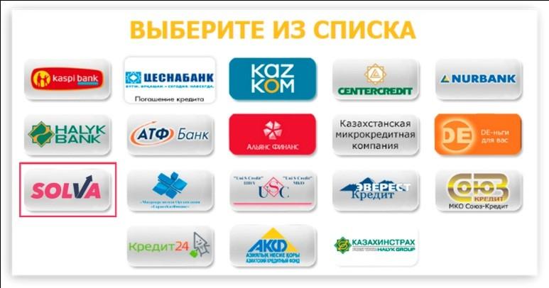 как оплатить кредит каспи банк через терминал