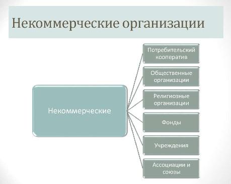 Некоммерческие организации